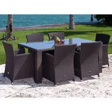 High Top Patio Dining Set Source Outdoor St Tropez All Weather Wicker Patio Dining Set