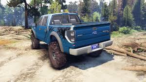 Ford Raptor Fire Truck - raptor svt v1 2 factory blue flame for spin tires