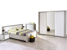 ensemble de chambre ensemble chambre adulte 5 pièces avec lit 140x200 cm armoire
