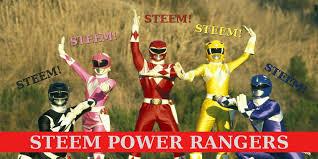 Power Rangers Meme - steem power rangers meme steemkr