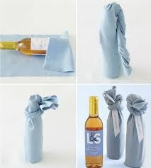 wine bottle gift wrap housewarming gift fabric wrapped wine bottles cox the