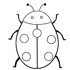 free printable insect coloring pages for kids preschool clip