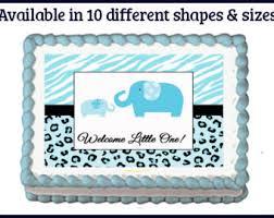 blue safari cake etsy