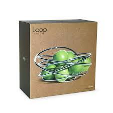 modern fruit holder amazon com black blum fruit loop fruit bowls serving bowls