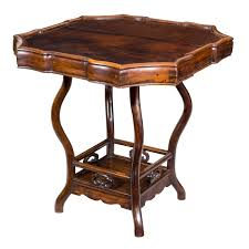 36 Round Dining Table Serpentine Rosewood Gaming Table For Sale At 1stdibs