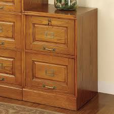 File Cabinet With Drawers Shop Coaster Fine Furniture Oak 2 Drawer File Cabinet At Lowes Com
