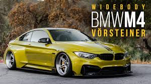 bmw m4 stanced vorsteiner widebody bmw m4 equipped with accuair youtube