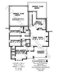 bungalo house plans lawncrest bungalow house plan house plans by garrell associates