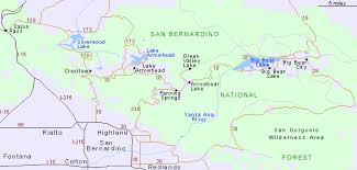 san bernardino ca map sbs 385 sense of place project san bernardino national forest
