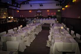 wedding arches glasgow view of the venue room with wedding arch in background picture