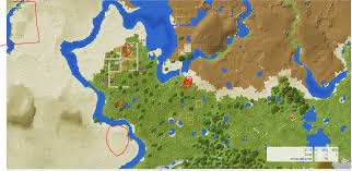 Biome Map 1 9 2 Seed All Biomes Monuments Temples Villages Within A 3000