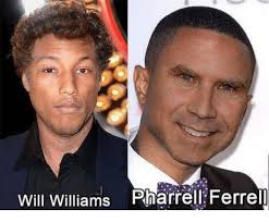 Pharrell Meme - will williams pharrell ferrell pharrell meme on me me