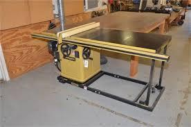 powermatic table saw model 63 machinerymax com lot 008 powermatic 66 ta table saw w rolling