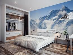 big bedroom designs comfy furry gray rug bright purple wall paint