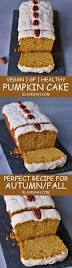 vegan pumpkin cake with a cashew frosting gluten free recipe