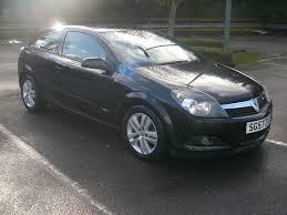 vauxhall black 2008 vauxhall astra 1 4i 16v sxi petrol black 3 door 57 reg