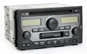 nissan altima 2005 stereo amazon com honda pilot 2003 2005 radio am fm cd cassette player