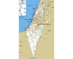 West Bank Map Maps Of Israel Detailed Map Of Israel In English Tourist Map