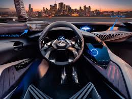 lexus auto website lexus ux concept has hologram display paris motor show business