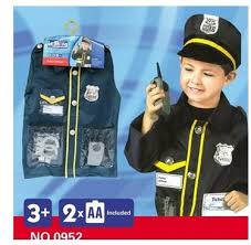 Boys Police Officer Halloween Costume Children U0027s Police Officer Costume Cosplay Clothing Profession