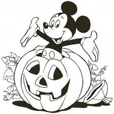 mickey mouse halloween coloring pages itgod me