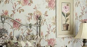 Modern Wallpaper Combinations For Interior Decorating With Flowers - Flower designs for bedroom walls