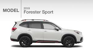 subaru forester 2019 subaru forester sport new model review youtube