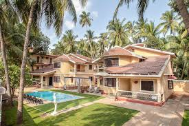 3 bedroom beach villa in goa available for rent self catered