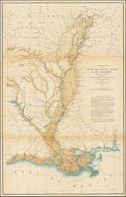 Map Of Ohio And Indiana by Map Of The Alluvial Region Of The Mississippi 1861 Barry