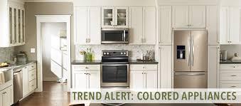 kitchen appliance colors trend alert colored appliances kitchen bath trends