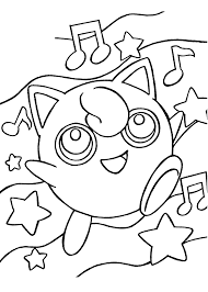 funny pokemon anime coloring pages for kids printable free