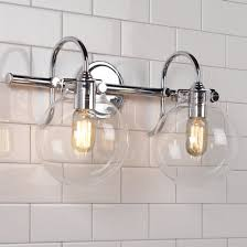 Bathroom Globe Lights Bathroom Lighting Fixtures Vanity Lighting Shades Of Light