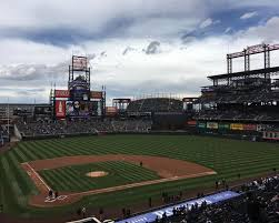Coors Field Map Major League Baseball Tour 2016 Coors Field Journeys By Maps Com