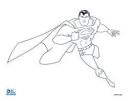 run superman run coloring
