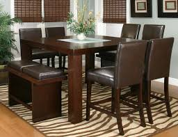 dining room sets 6 chairs cramco 25310 kemper dining table set