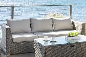 canape de jardin canapé 3 places salon jardin résine tressée tasmania jardideco