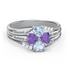 a mothers ring mothers rings personalizable and engravable jewlr