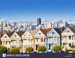 san francisco painted ladies famous well maintained old victorian