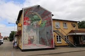 3d mural mural vindkraft brande denmark 3d street painting street art