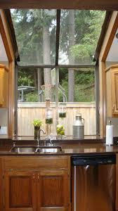 kitchen kitchen bay window seat tilt out trash can cabinet light