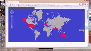 Countries Visited Map आफ घ म क द शहर क नक स कसर