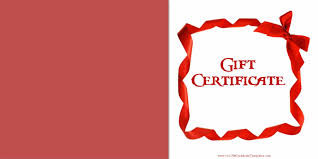 Gift Certificate Word Template Real Time Power Trader Cover Letter