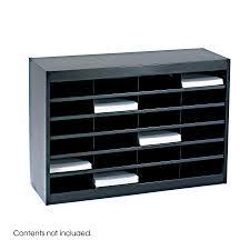e z stor literature organizer 24 letter size compartments
