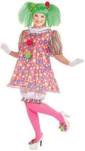 Clowns Halloween Costumes Ladies Spanky Stripes Clown Court Jester Clowns Doll U0026 Related