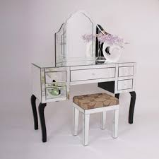 Glass Vanity Table With Mirror Mirrored Glass Dressing Table At Rs 4500 Piece Makeup Desk