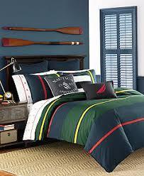 Nautica Duvet Nautica Heritage Classic Stripe Bedding Collection Bedding