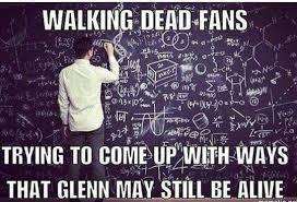 Glenn Walking Dead Meme - 18 memes showing how glenn would survive the dumpster incident