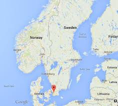 map of sweden where is lund on map of sweden world easy guides