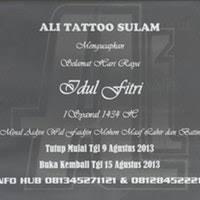 ali tattoo sulam mangga dua square ali tattoo sulam tattoo parlor