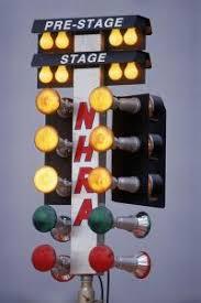 tree drag racing lights lights card and decore